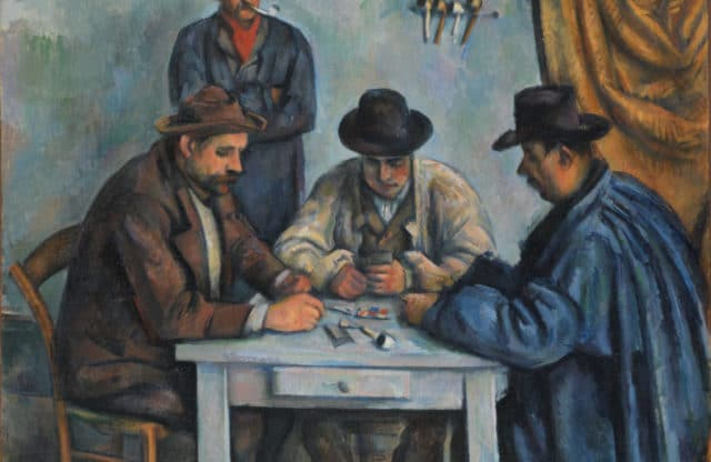 Cézanne's Card Players at the Courtauld Gallery