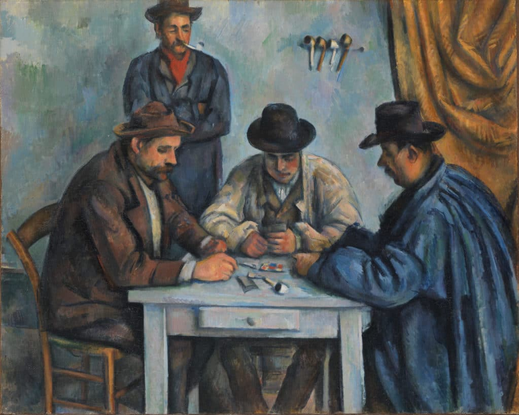 Cézanne, Card Players