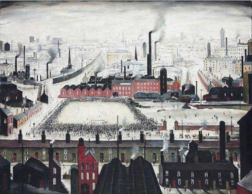 Lowry, The Football Match, 1949