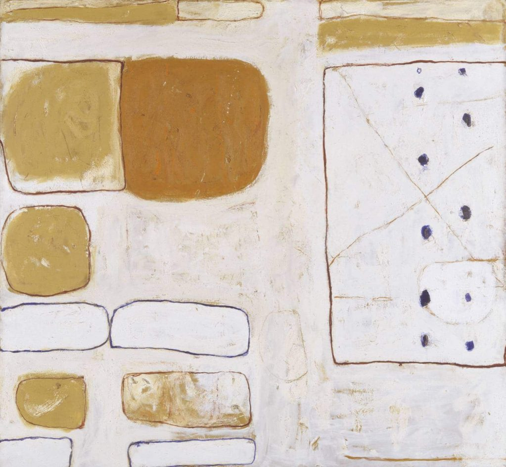 William Scott, White, Sand and Ochre 1960-1