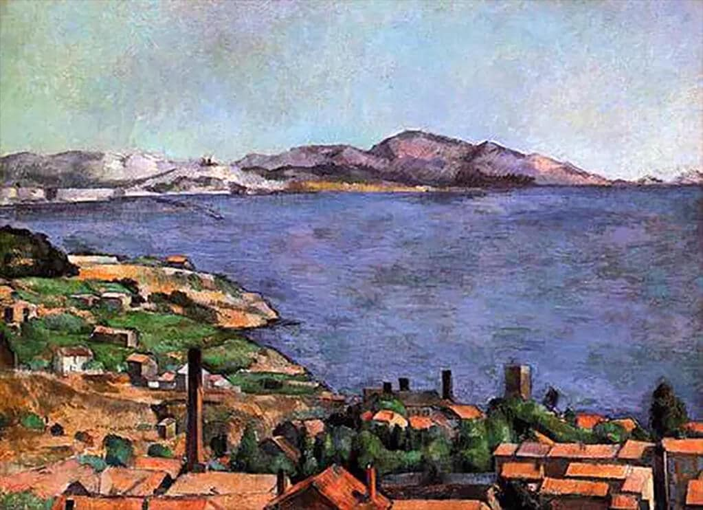 L'Estaque, Cézanne (1883); Museum of Modern Art, New York