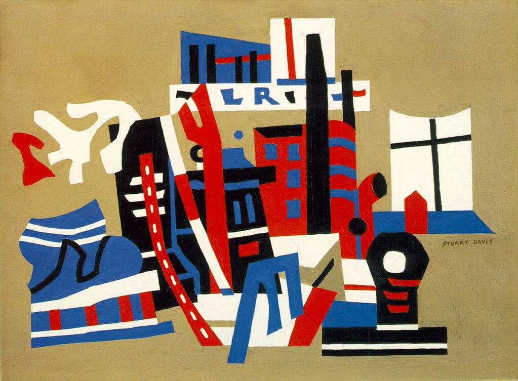 Stuart Davis: New York Waterfront (1938); Museum of Modern Art, New York