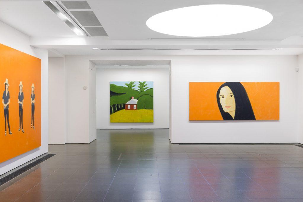 Alex Katz, Serpentine Gallery, installation view