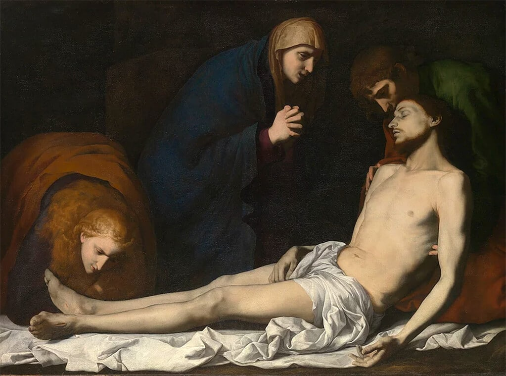 Lamentation over the Dead Christ, Jusepe de Ribera, early 1620s, National Gallery