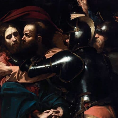 The Taking of Christ, Michelangelo Merisi da Caravaggio, 1602, National Gallery of Ireland
