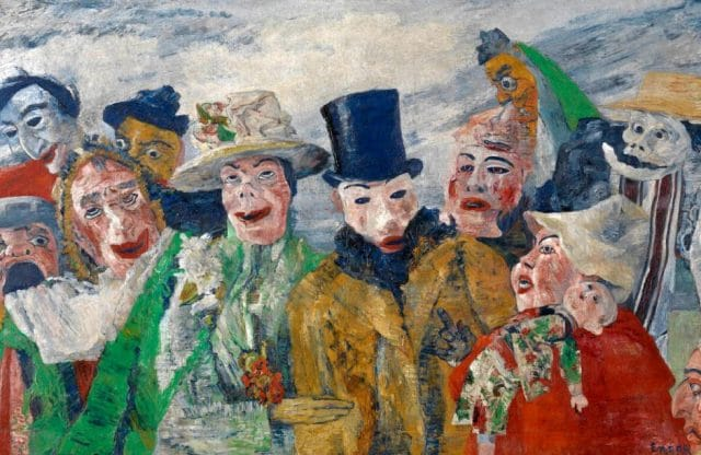 Ensor: Before and After Magritte