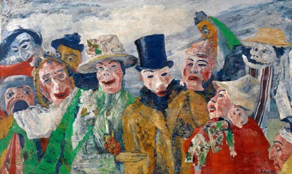 Intrigue, James Ensor, 1890