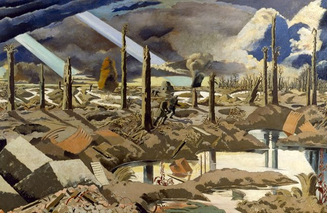 Paul Nash: haunting paintings from the battlefields of war
