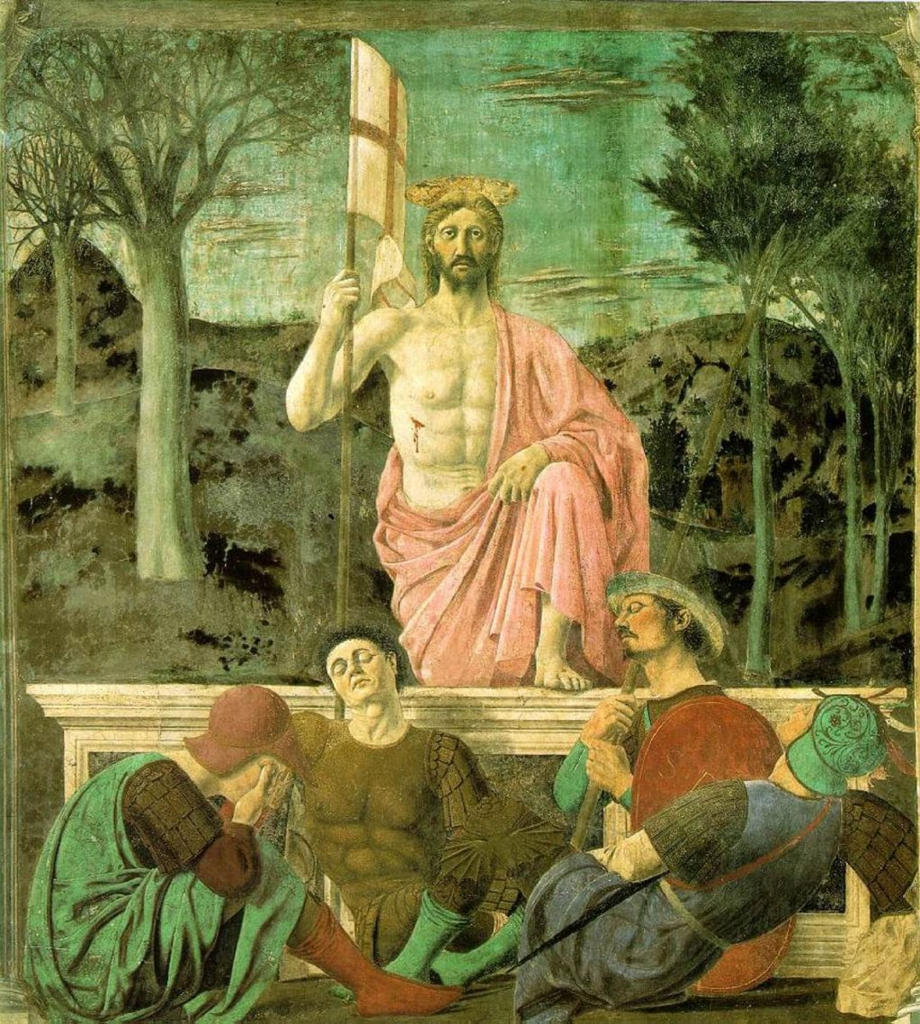 The Resurrection, c.1467-68; Civic Museum, Sansepolcro