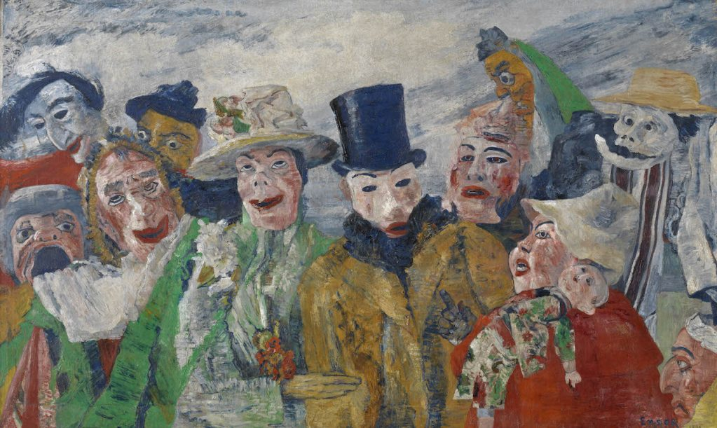 James Ensor, The Intrigue, 1890