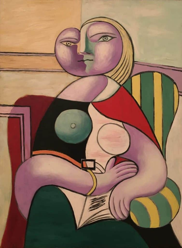 Picasso portrait of lover