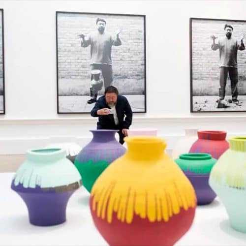 Ai Weiwei at the Royal Academy