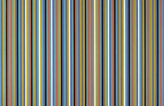 Bridget Riley: The Stripe Paintings at David Zwirner