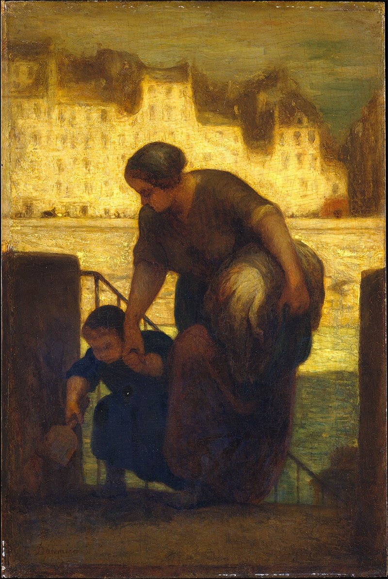 The Laundress, 1863; Museé d'Orsay, Paris