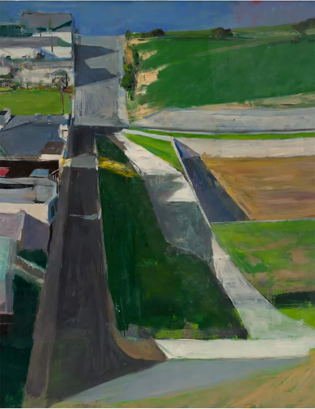 Cityscape #1, 1963; San Francisco Museum of Modern Art © The Richard Diebenkorn Foundation