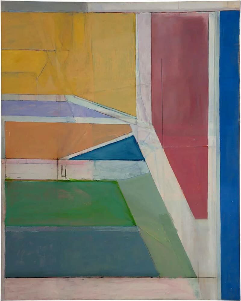 Ocean Park #116, 1979; Fine Arts Museums of San Francisco © The Richard Diebenkorn Foundation