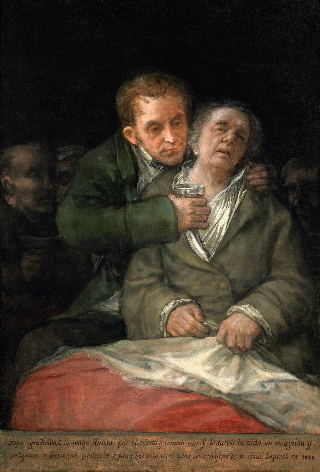 Self-Portrait with Doctor Arrieta, 1820; Minneapolis Museum of Art