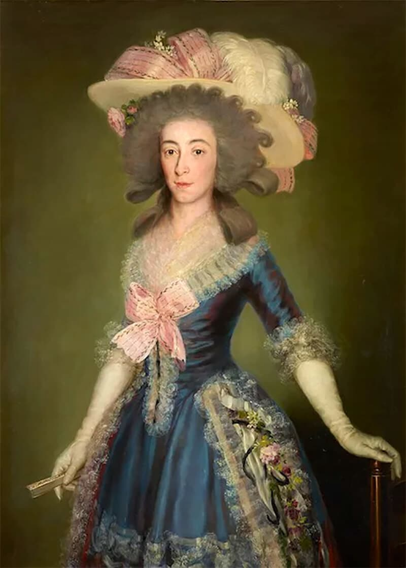 Countess-Duchess of Benavente, 1785; private collection © Joaquín Cortés