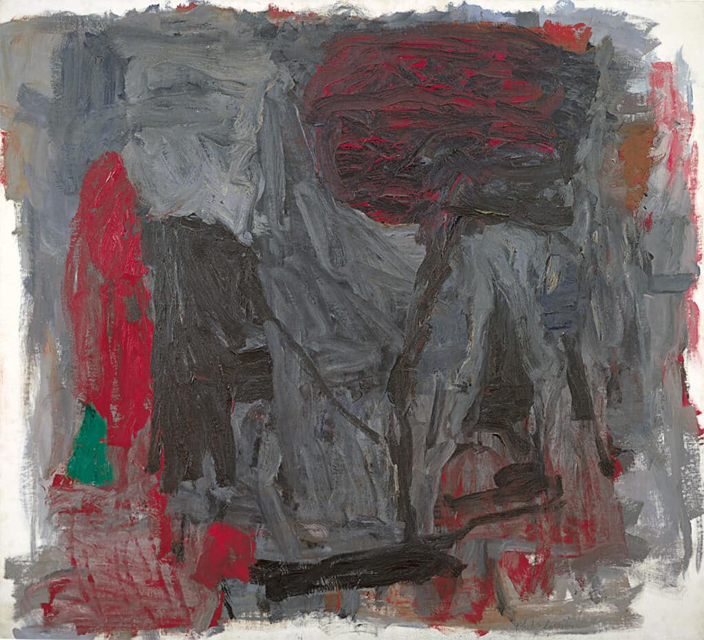 Traveller III, 1959-60; The Estate of Philip Guston, courtesy Acquavella Galleries