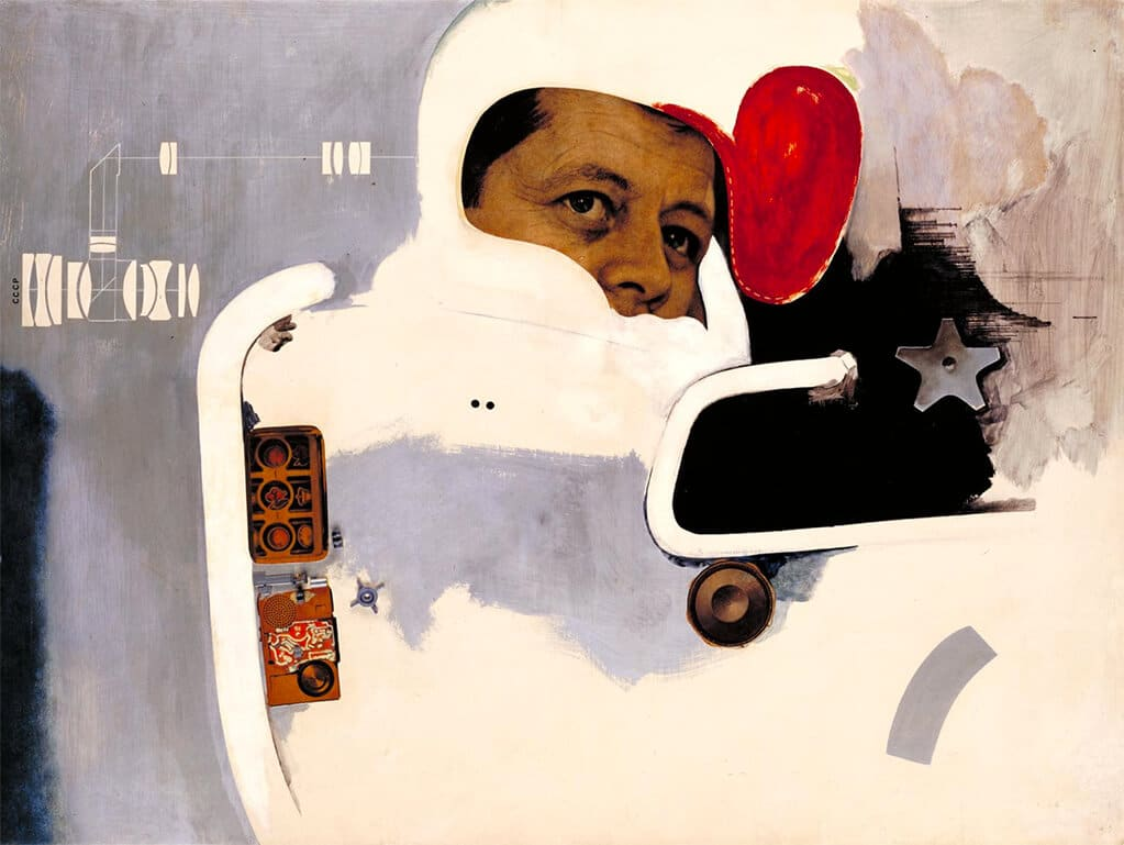 Towards a definitive statements on the coming trends in menswear and accessories (a) 'Together let us explore the stars, 1962; Tate © The Estate of Richard Hamilton