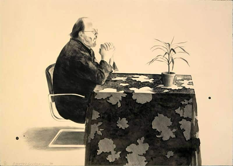 Henry At The Table, 1976; © David Hockney / Gemini G.E.L.