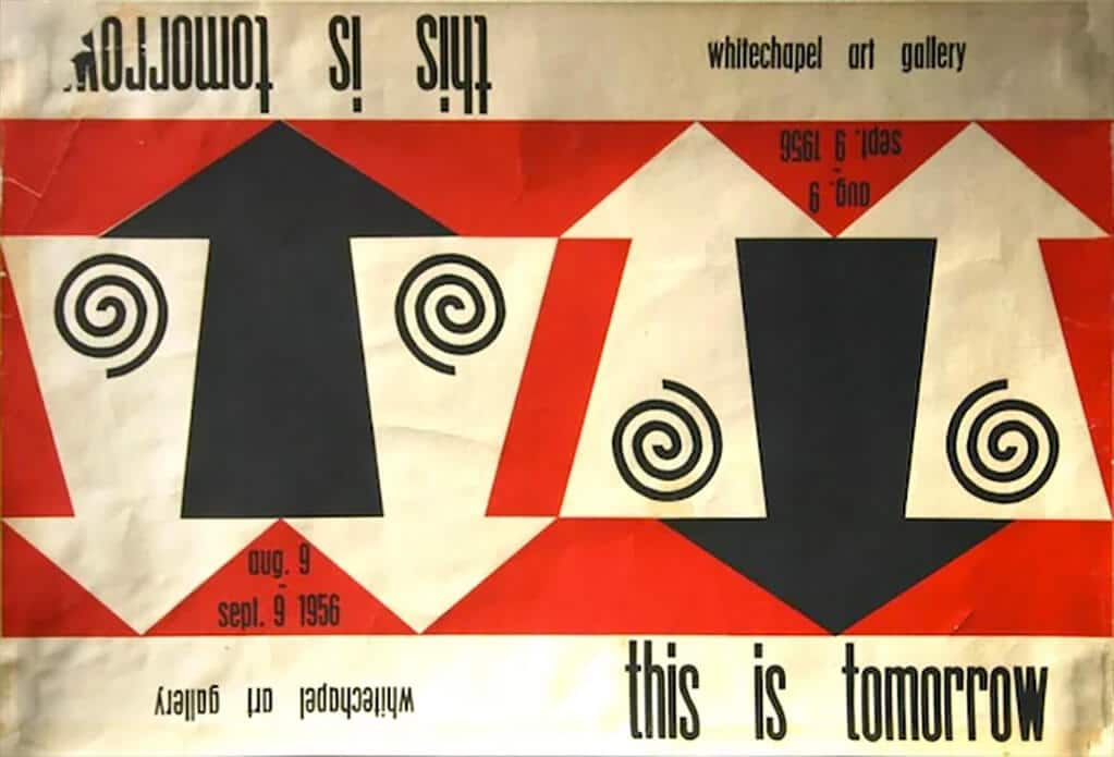 John McHale, This is Tomorrow exhibition poster, 1956