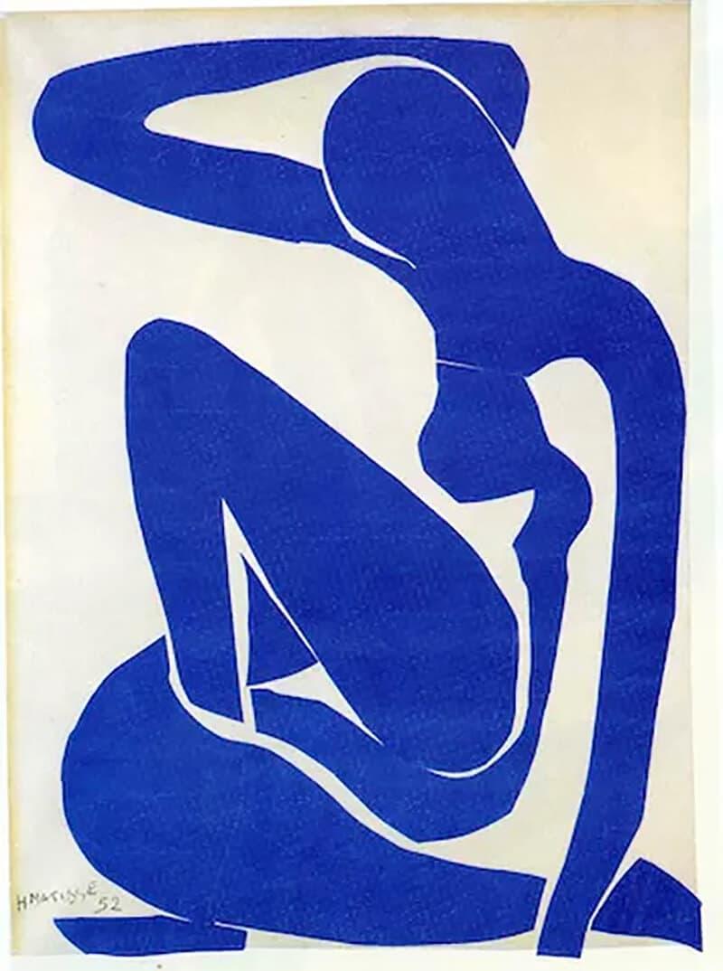 Blue Nude I, Spring 1952; Beyeler Collection, Basel