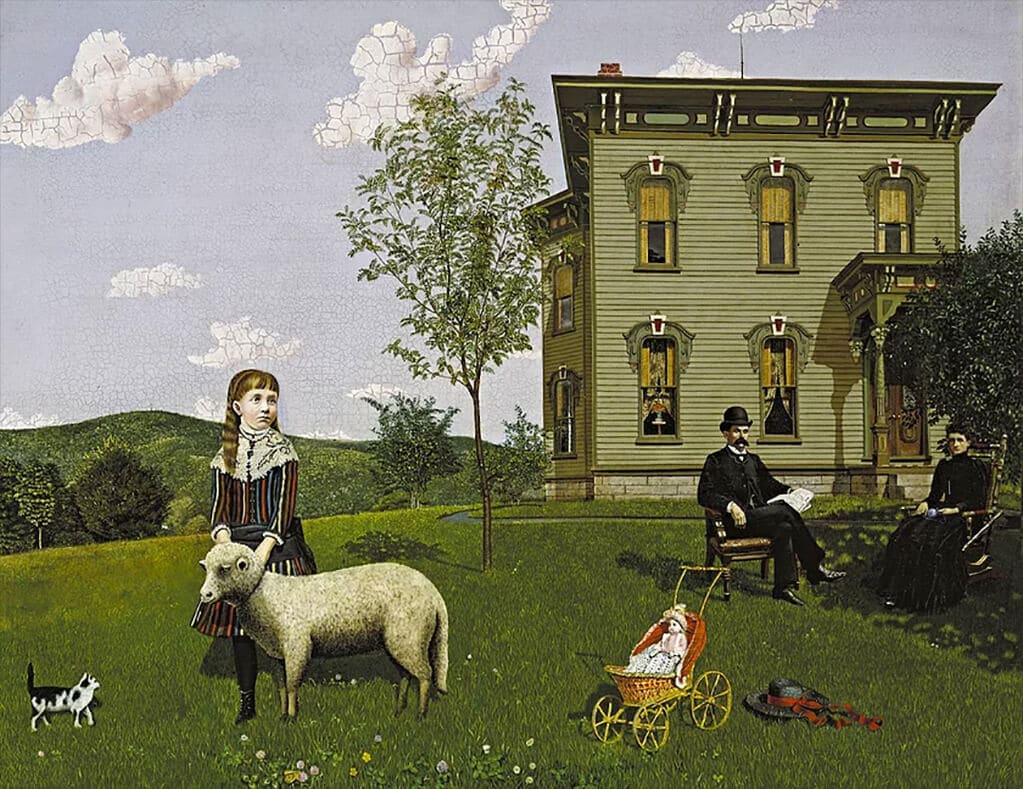 Mourning Picture, Edwin Romanzo Elmer (1890); Smith College Museum of Art, Northampton, Massachusetts