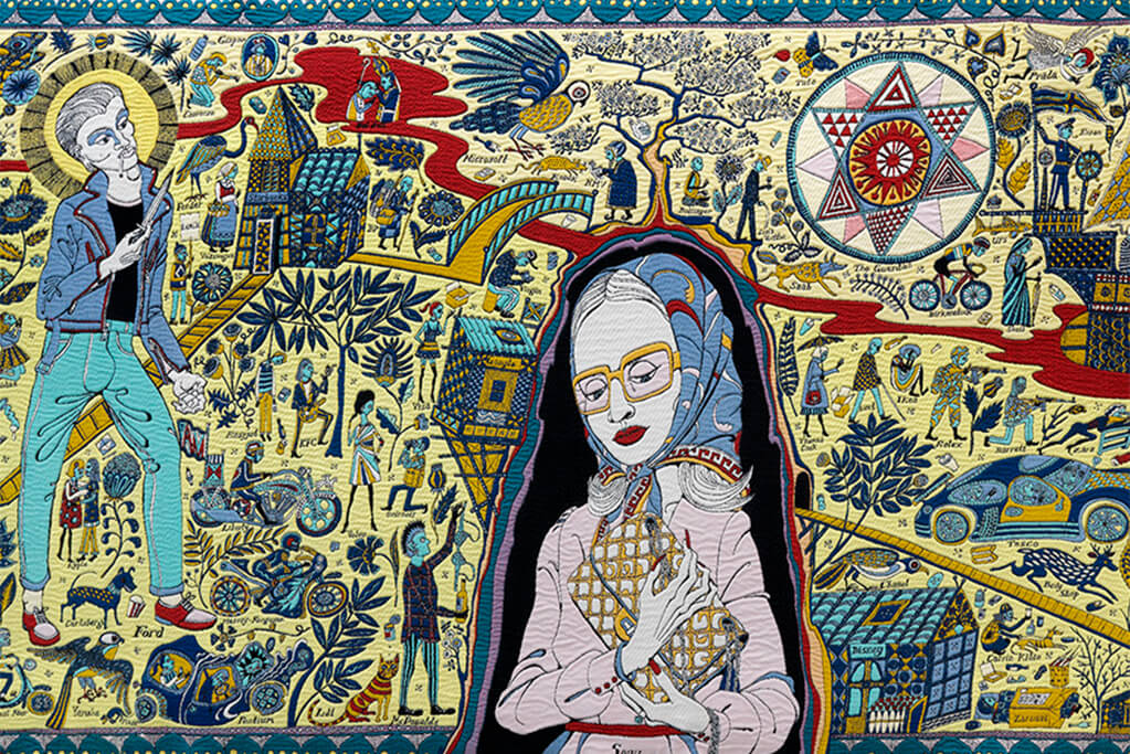 Walthamstow Tapestry (detail), 2009; The China Academy of Art, Hangzhou