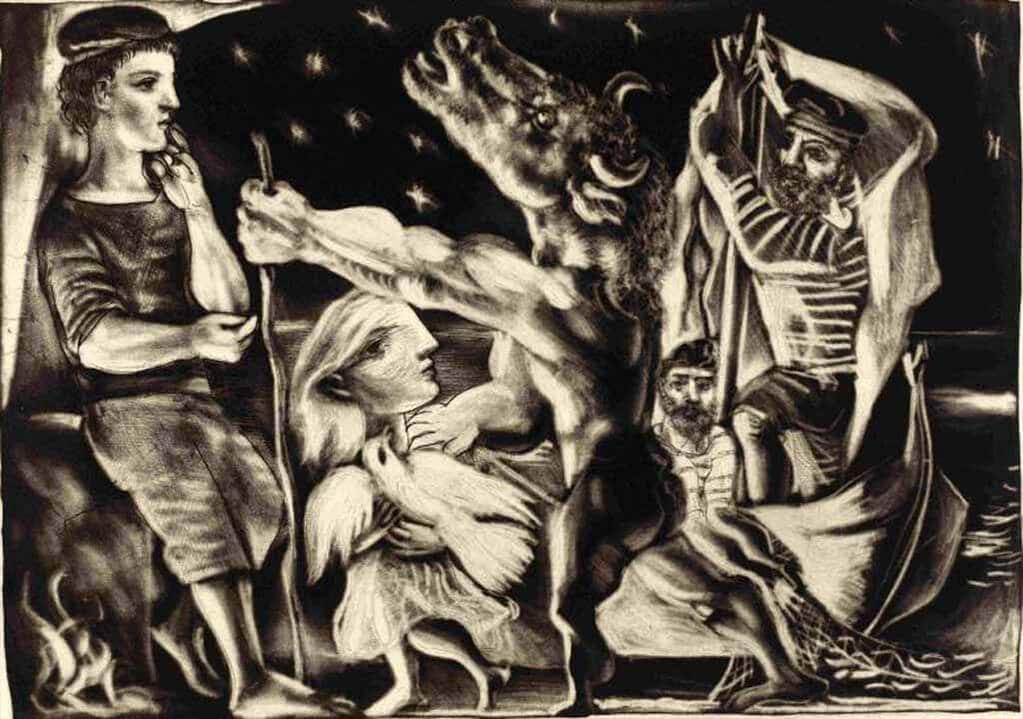 Picasso The Vollard Suite Fisun G 252 Ner