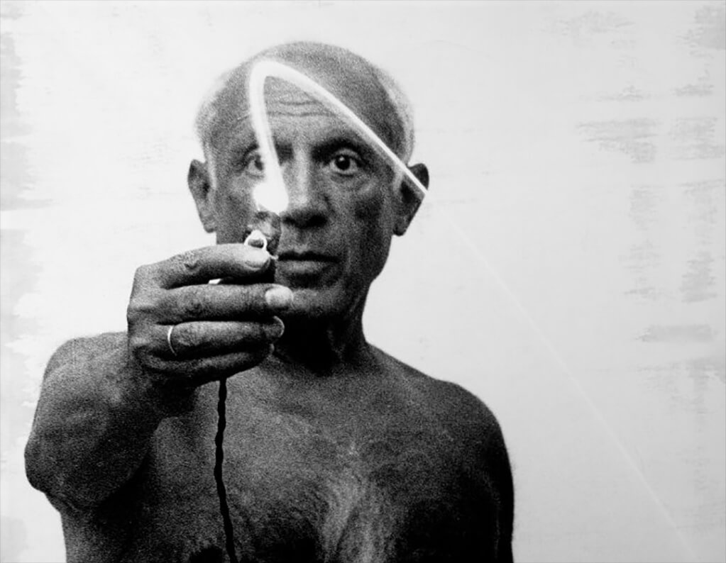 Picasso: the eyes have it