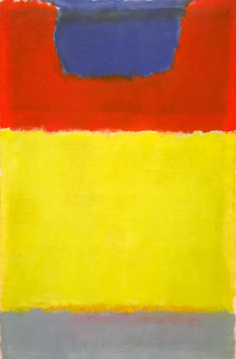 Untitled, 1956; National Gallery of Art, Washington; The Mark Rothko Foundation, Inc.