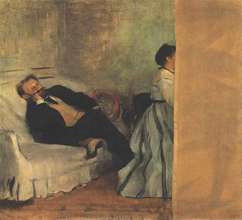 Edgar Degas, M. and Mme Édouard Manet