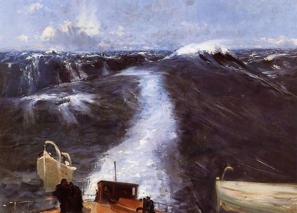 John Singer Sargent, sea paintings
