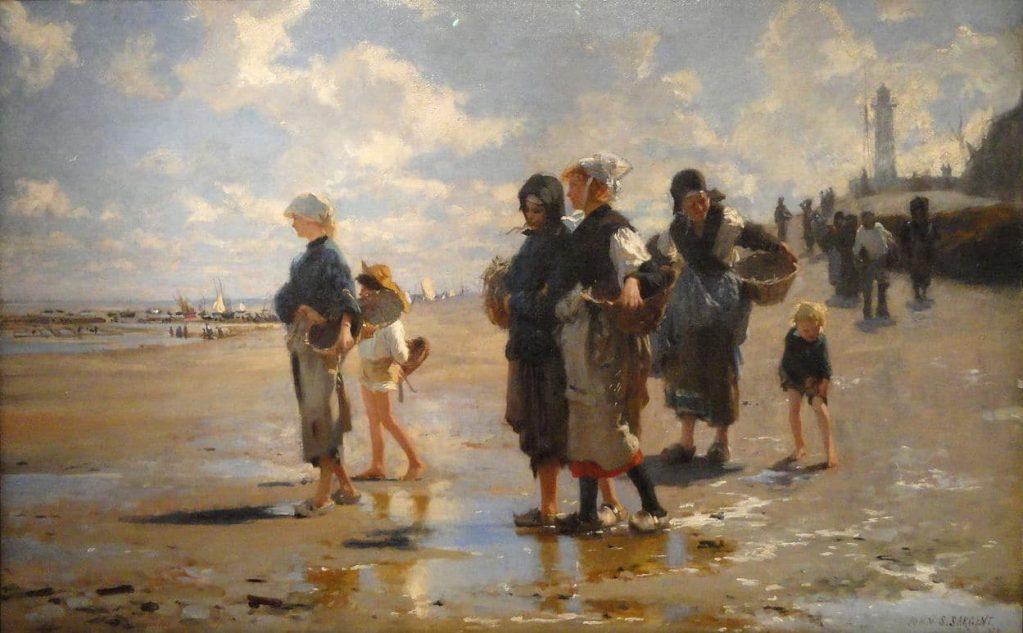 John Singer Sargent, En Route pour la pêche, 1878