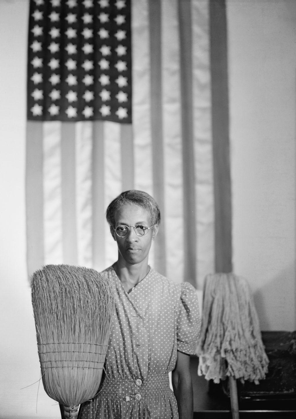 Gordon Parks, American Gothic, Ella Watson