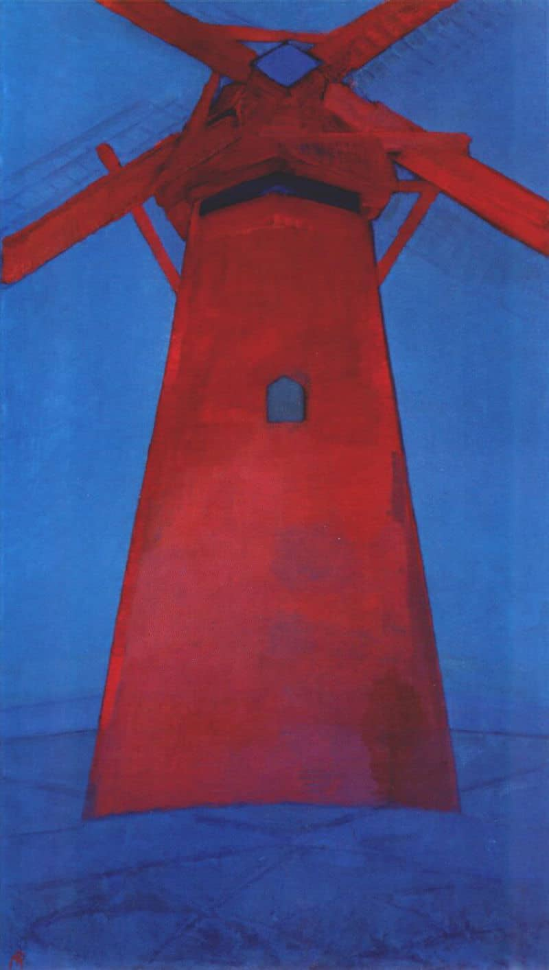 Mondrian, The Red Mill, 1911