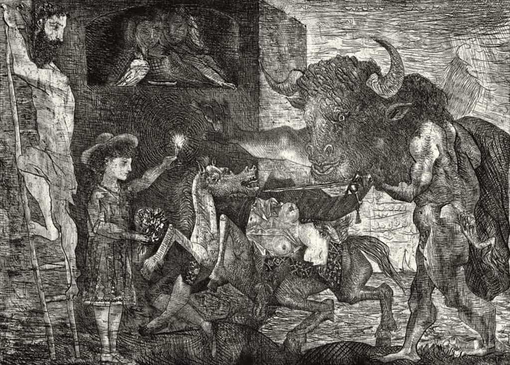Picasso, La Minotauromachie VII, 1935
