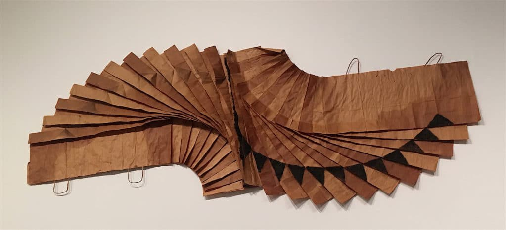 David Hammons, Bag Lady in Flight