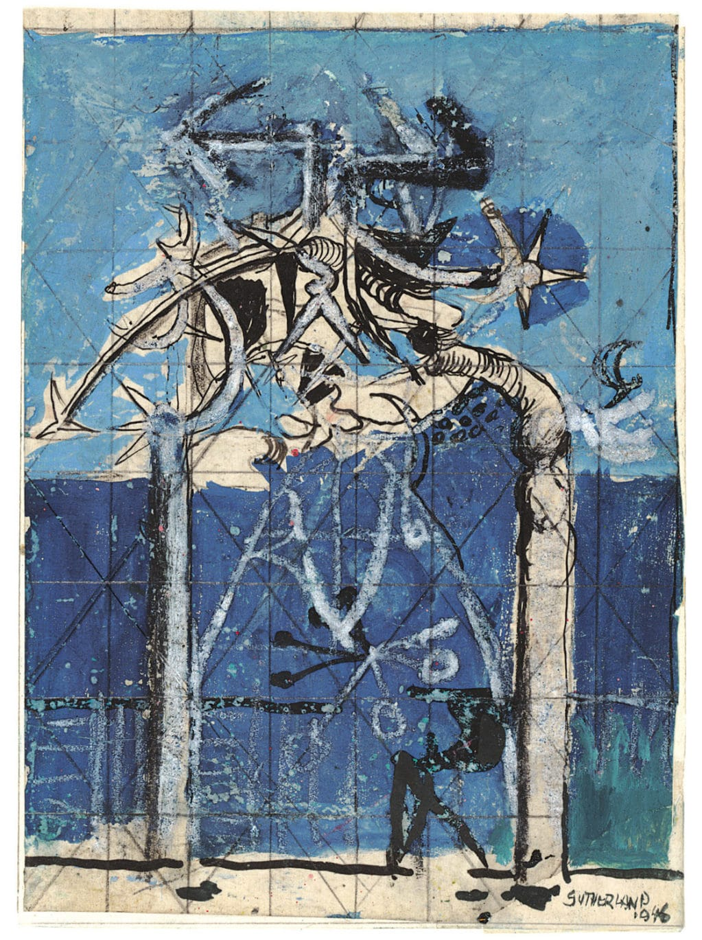 Graham Sutherland, Thorn Trees. 1946