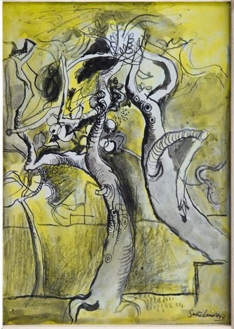 Graham Sutherland, Two Trees, 1947