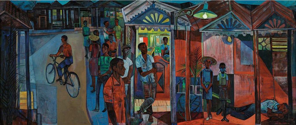 John Minton, Jamaican Village, 1951