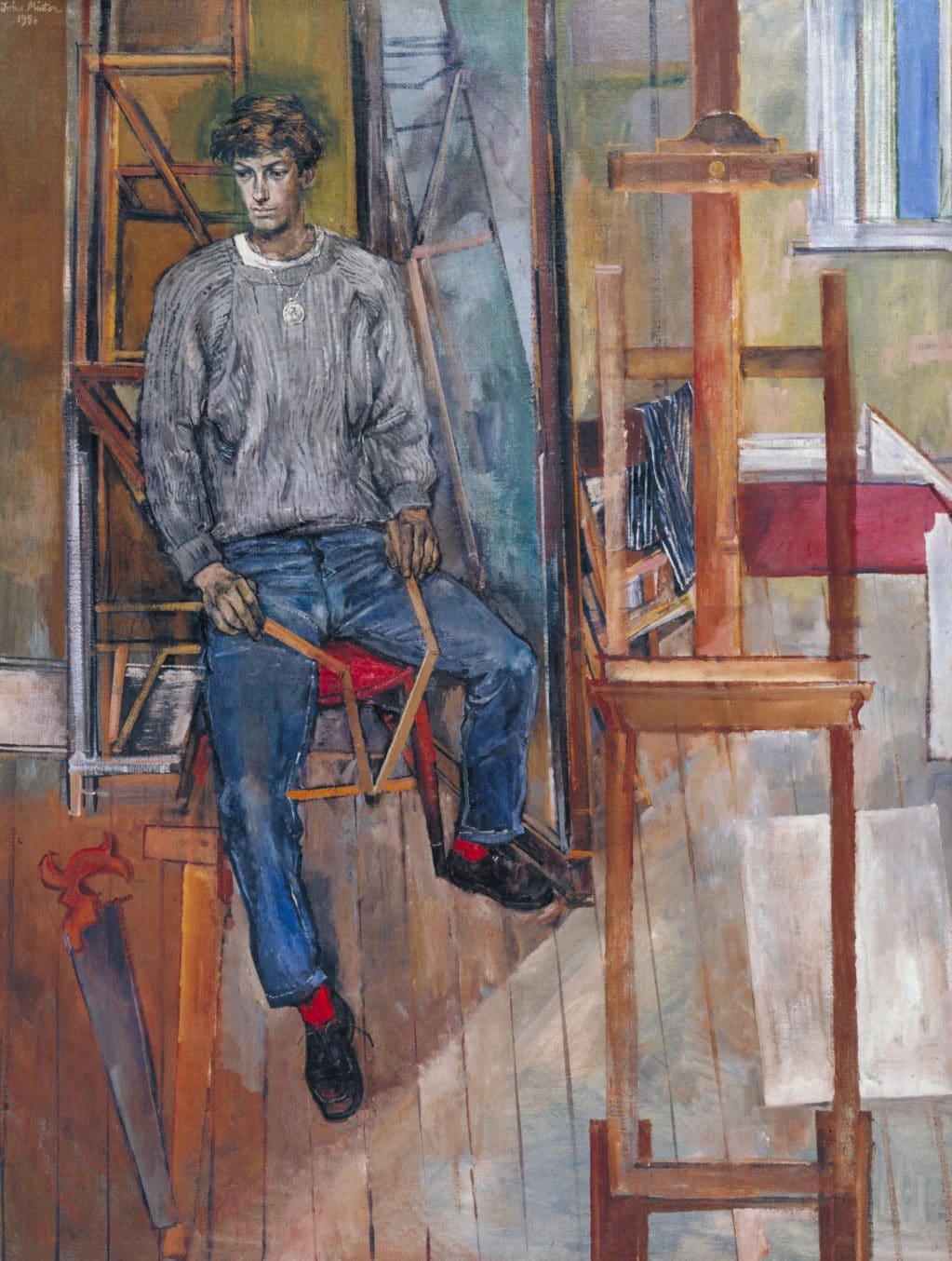 John Minton, portrait