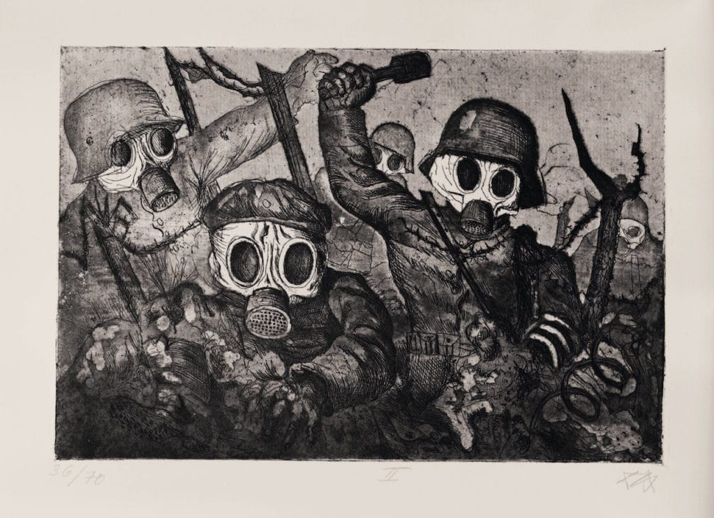 Otto Dix, war prints