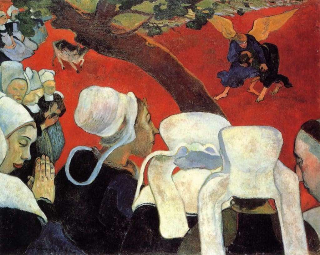 Gauguin, Vision After the Sermon
