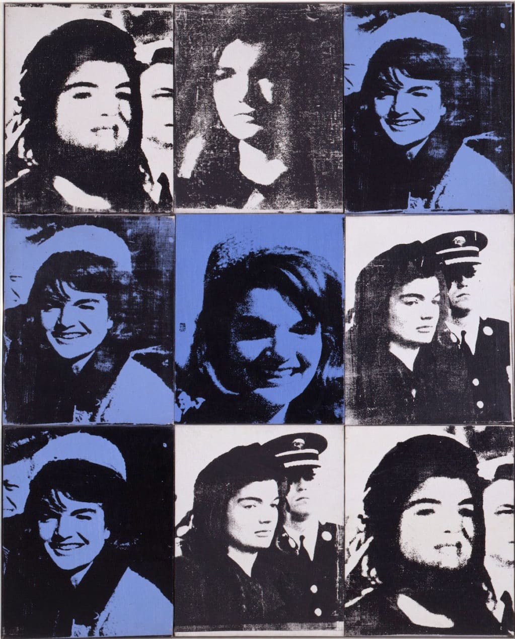 Warhol, Nine Jackies, 1964